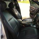 LIKE CARBON FIBER & SYNTHETIC TWO FRONT BLACK CAR SEAT COVERS (Fits SUBARU XV CROSSTREK)