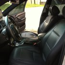 VW GOLF 2013-... MK7 3 DRS MIX L. CARBON FIBER & SYNTHETIC TWO FRONT BLACK CAR SEAT COVERS