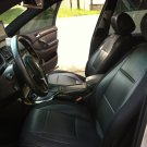 VW GOLF 2013-.... 3 DRS MK7 LIKE CARBON FIBER & SYNTHETIC TWO FRONT BLACK CAR SEAT COVERS