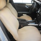 MERCEDES 190 190E 190D TWO FRONT CUSTOM TAN CLASSIC SYNTHETIC CAR SEAT COVERS