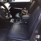 HONDA CR-V 2012-Now LEATHERETTE & SYNTHETIC TWO FRONT BLACK CAR SEAT COVERS