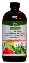 L-Carnitine Raspberry Ketones & Green Coffee Bean 16oz