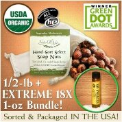 NaturOli Soap Nuts / Soap Berries  USDA Organic