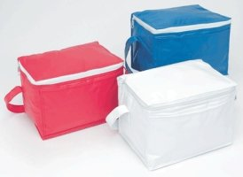 Insulated Cooler Bags - Holds a 6 pack!