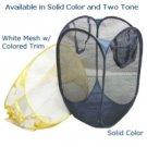 Easy Open Foldable Mesh Laundry Hamper