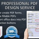 I will edit or design your PDF file for $7