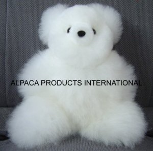 "TEDDY BEARS IN ALPACA FUR 14"""
