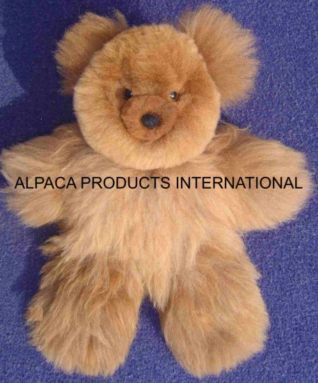 TEDDY BEARS IN ALPACA FUR 20""