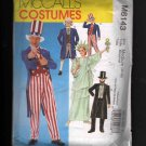McCalls 6143  Adult Uncle Sam, Lincoln, Statue of Liberty and Colonial Costumes Medium (36-38)FF