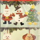 Butterick 6054 Christmas Ornament Craft Pattern OOP FF