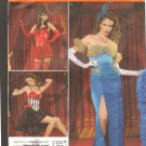 OOP FF Simplicity 2535 Misses Costume Pattern Sz 8-16 Showgirl/Cabaret/Burlesque/Dance Hall Pattern