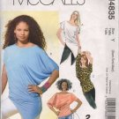 OOP McCall's 4835 Misses' Knit Pullover Tops SZ XS-M FF