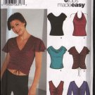OOP Simplicity 5759 Misses' Knit Tops With Six Design Options SZ 6-12  FF