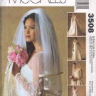 OOP McCall's 3508  Alicyn Exclusives Collection  Bridal Veils w/ Five Style Options FF All Sizes