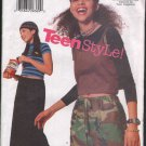 OOP Butterick 5759 Junior's Teen A-line Drawstring Skirt w/ pocket & Two Length Options   SZ 9-14