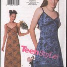 OOP Butterick 5757 Junior's/ Teen  A-line Slip Dress w/ Two Length Options  SZ  9-14