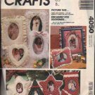 OOP McCall's 4050/ McCall's 613  Marti Michell Picture Frames/Ornaments Pattern FF