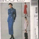 McCall's 9529 Misses' Lined Jacket /Dress & Skirt In Two Length Options Sizes 10-14 OOP FF