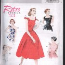 Butterick 5708 Misses' Dress circa 1953 Sz 6-14 ; Uncut/FF