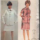 OOP Butterick 4307 Misses' Suit Gerald McCann Young Designer London Collection Size 14 Uncut/FF