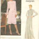OOP Vogue 2641 American Designer Original Albert Nipon Misses' Dress Sz 12 Uncut/FF