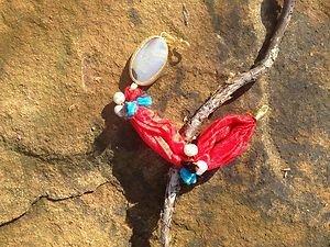Turkish Jewelry~100% Pure Orange Silk Agate Bracelet Hand Made In Turkey~ NWT