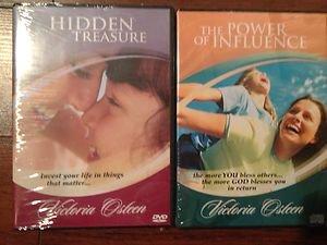 Lot of 2  Victoria Osteen Brand New~  Power of Influence & Hidden Treasure