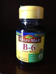 100 Nature Made Vitamin B-6 B6 100mg Tablets Exp 7~15 Factory Sealed!!