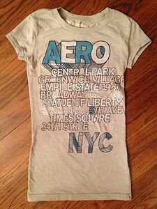 Juniors Xs Aeropostile  Graphic Top T-Shirt~CUTE!