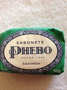 Brazilian SOAP~PHEBO Amazonian SOAPPHEBO BAR SOAP~from Brazil~BRAND NEW!