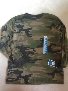 BOY'S SHIRT CAMOUFLAGE LONG SLEEVE SHIRT Size 8-10 SHIRT~NWT~bACK tO sCHOOL sALE