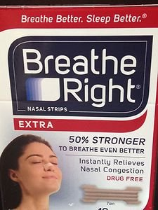 Nasal Strips Breathe Right Nasal Strips~factory sealed worldwide shipping!!