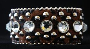 Leopard Print Cuff Wide~ Genuine Leather Hair on Hide NEW w TAG! Gorgeous!!