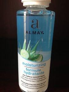 Almay Moisturizing Eye Makeup Remover Liquid 4.0 Oz~NEW factory sealed!!