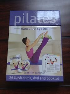 PILATES DVD~~~Simply Pilates Jennifer Pohlman - DVD + 26 Flash Cards~NEW!!!