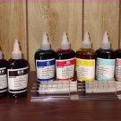 Bulk refill ink for EPSON ink printer , 100ml x 7 bottles (2BK, 1C, 1M, 1Y, 1LC, 1LM)