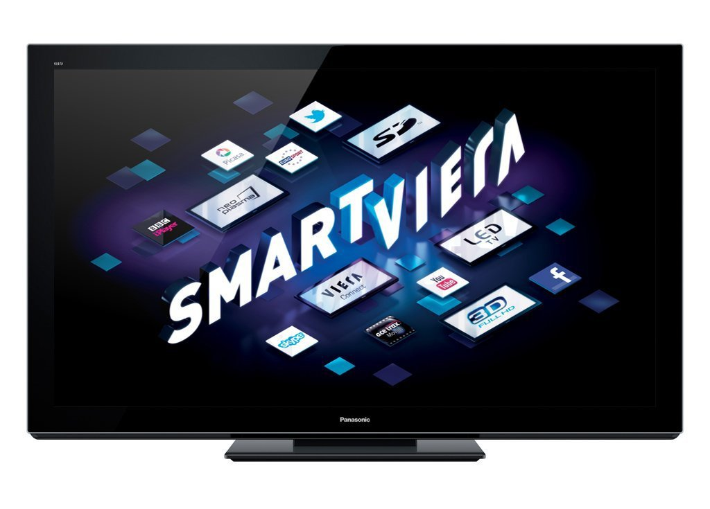 Panasonic Smart VIERA TX-P65VT30B 65-inch Full HD 1080p 3D 600Hz Internet-Ready Plasma TV