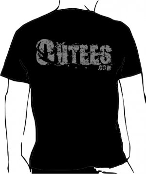 Black Outees S-XL Large Back Logo Design Inside-Out