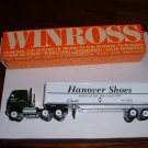 HANOVER SHOE # 1...Hanover, Pa..1991 Winross truck--DE...made in USA