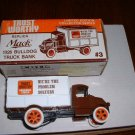 Trustworthy truck 3--1987  ERTL bank--1:25 scale