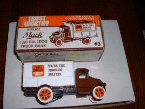Trustworthy truck 3--1987  ERTL bank--1:25 scale