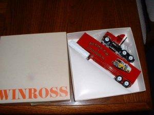 Alpha Fire Dept--Littlestown, PA---1993  Winross truck--EX--made in USA