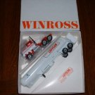 LEFFLER-- Truck 2---propane tanker....1987  Winross truck--made in  USA--RB