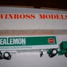 Wylers Real Lemmon--Borden...1981 Winross  truck--made in USA--BX
