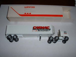 Carmac Transport--1985  Winross  truck--made in USA---RB