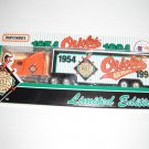 Baltimore Orioles..1994 Matchbox truck--40 yr anniversary-Made in China--E