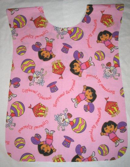 Dora Explorer Circus School Preschool Kids Paint Smock Apron Childs Childrens