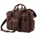 Handmade Vintage Crazy Horse Leather Bag Men's Briefcase/Laptop Bag/Messenger Bag