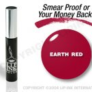LIP INK Earth Red Smearproof Lip Stain + Off & Shine Towelettes