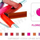 LIP INK Florida Pink Smearproof Lip Stain LipGel + Off & Shine Towelettes